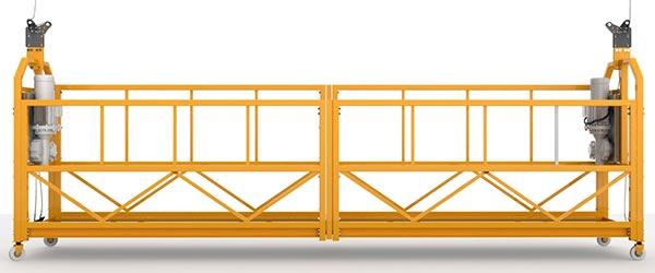 фасадный подъемник - строительная люлька