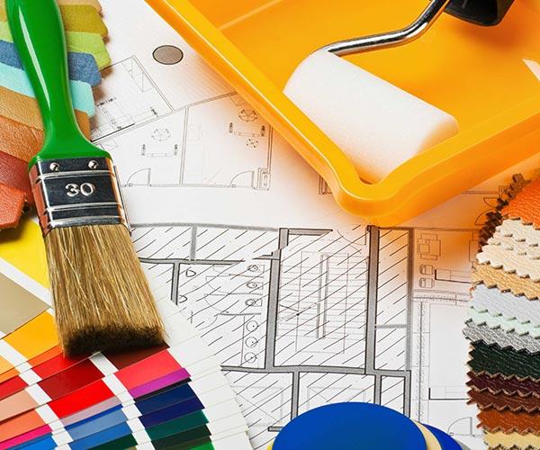 строительные материалы для ремонта и отделки